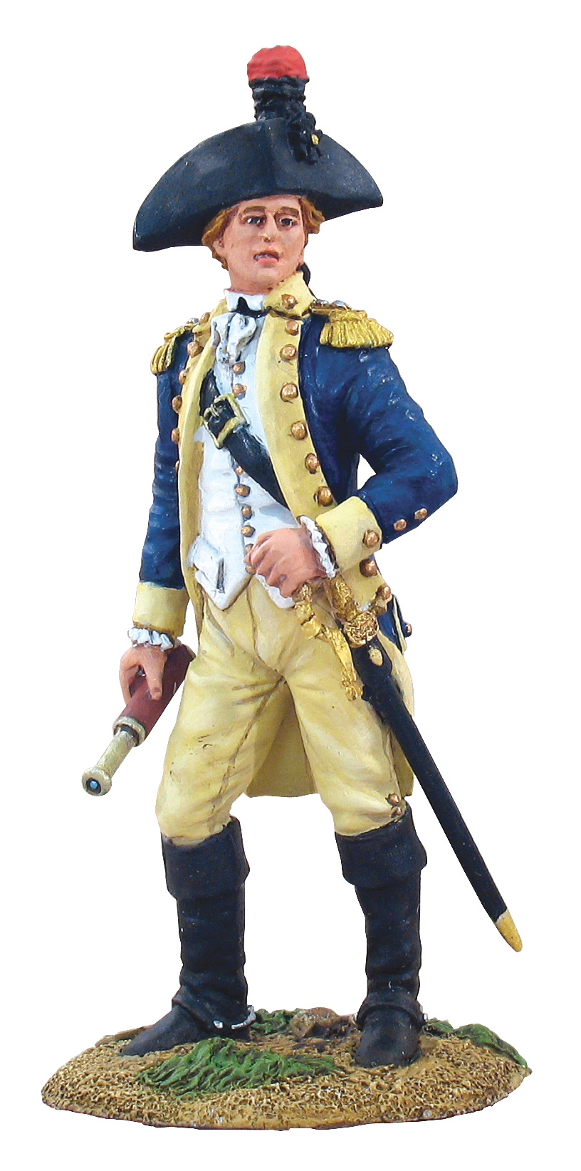 French Marquis de Lafayette on Foot