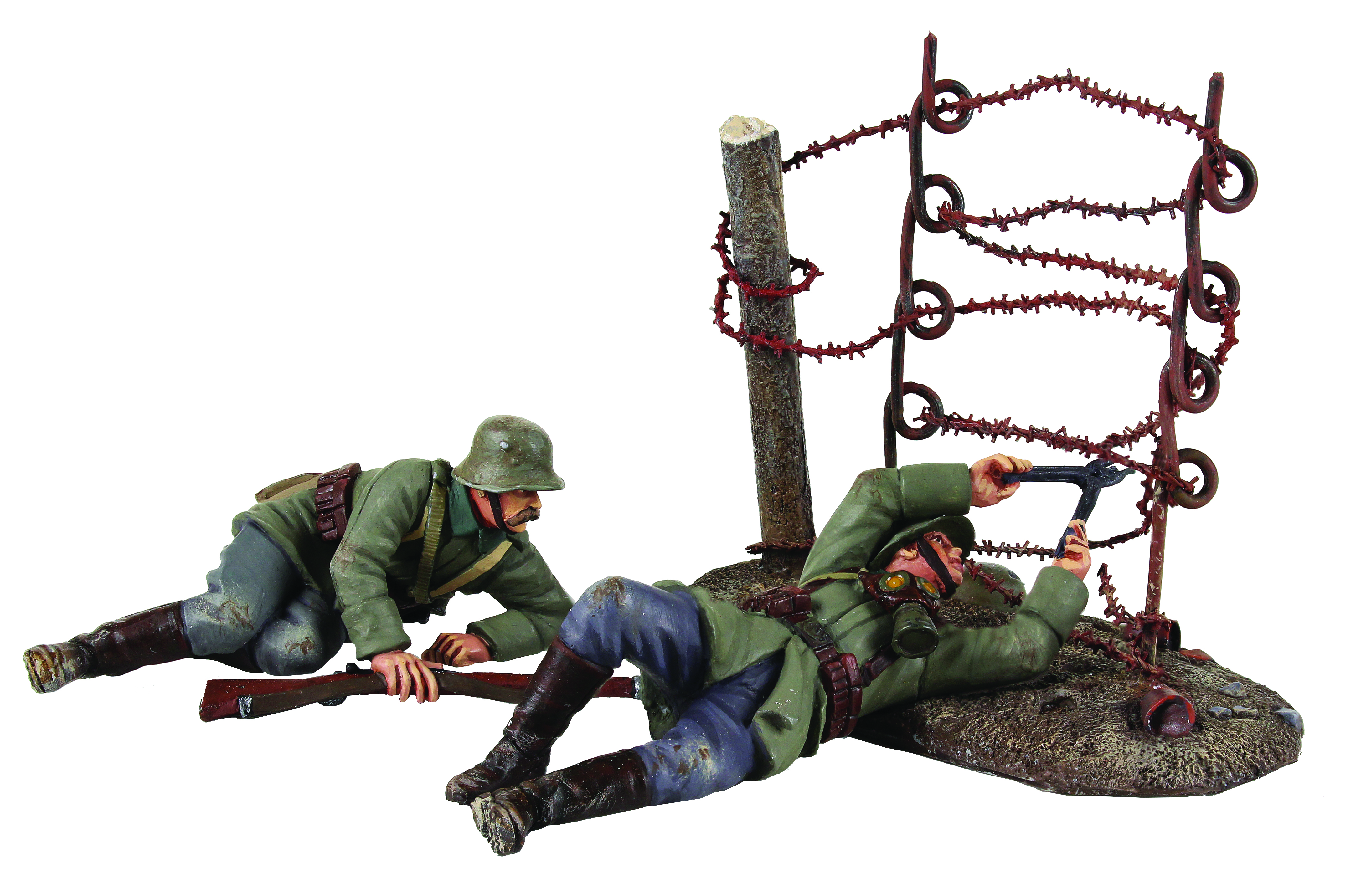 """""""Going Through the Wire"""" German Wire Cutting Party - 3 Piece Set Limited Edition of 500 sets"""