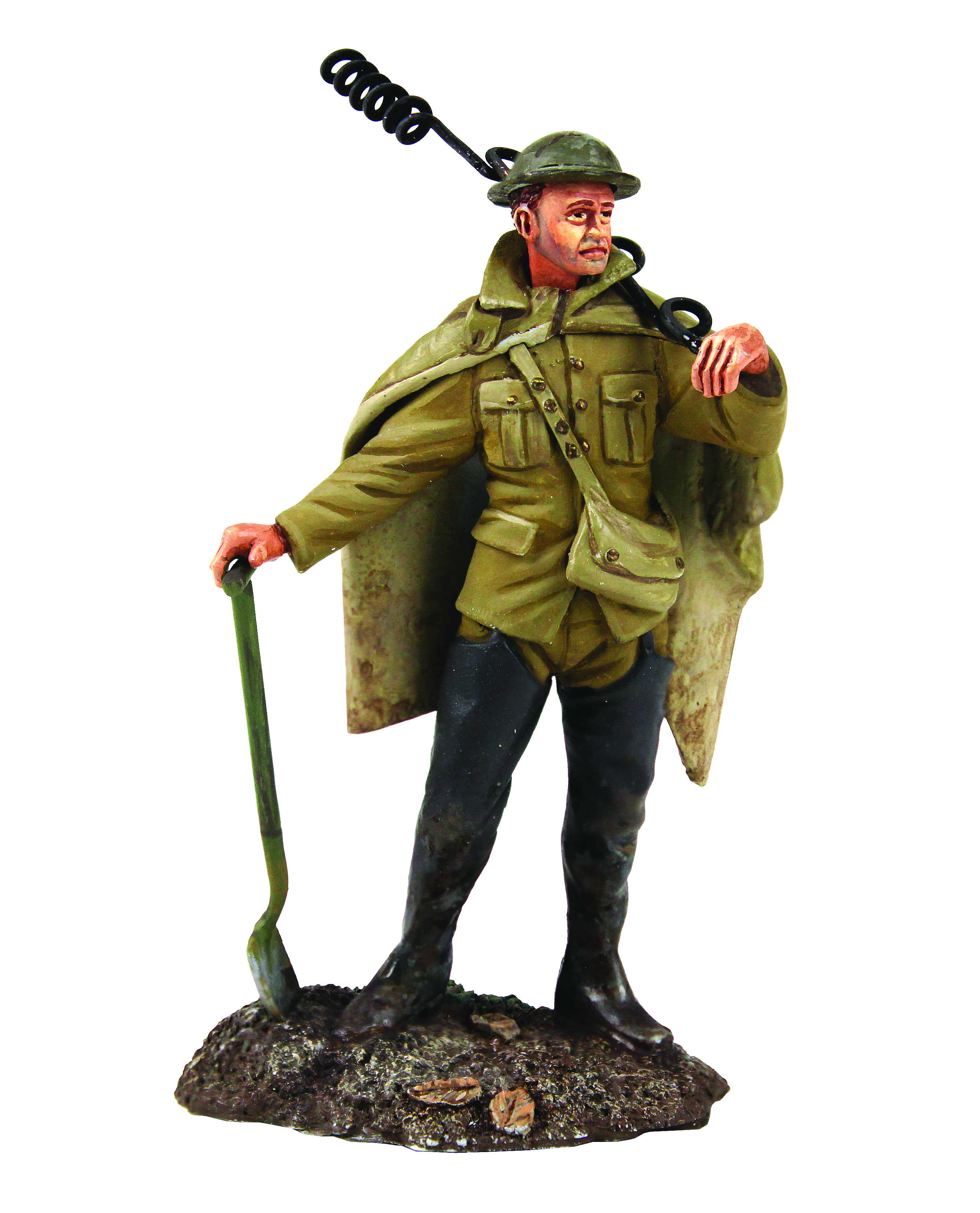 """""""The Work Party"""" Set No.1 - 1916-18 British Infantry in Poncho - 1 Piece Clamshell Pack"""