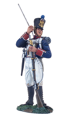 French Line Infantry Fusilier Standing Loading No.1