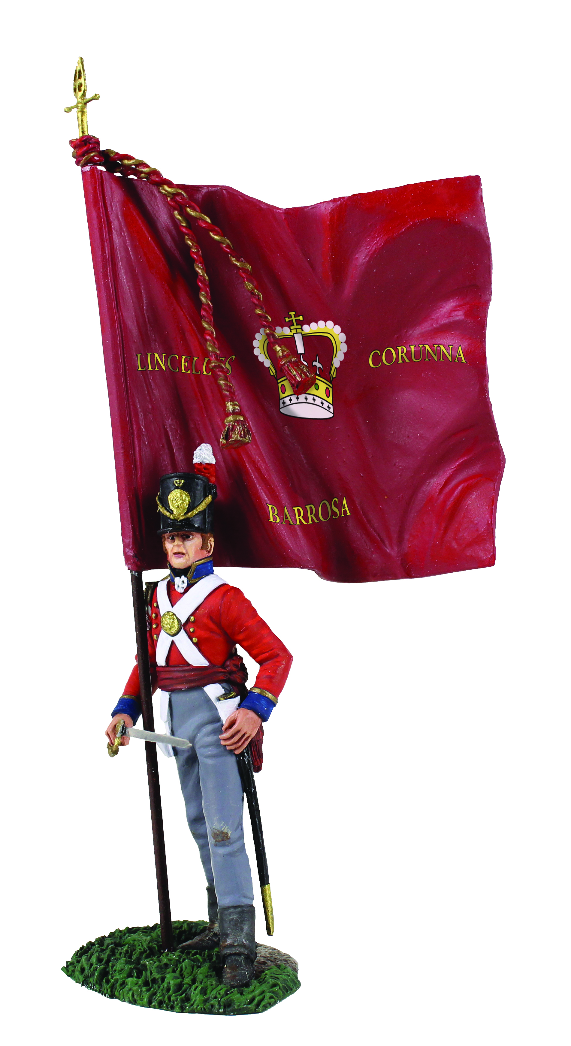 British 1st Foot Guard Battalion Company Ensign with King's Colour No.2