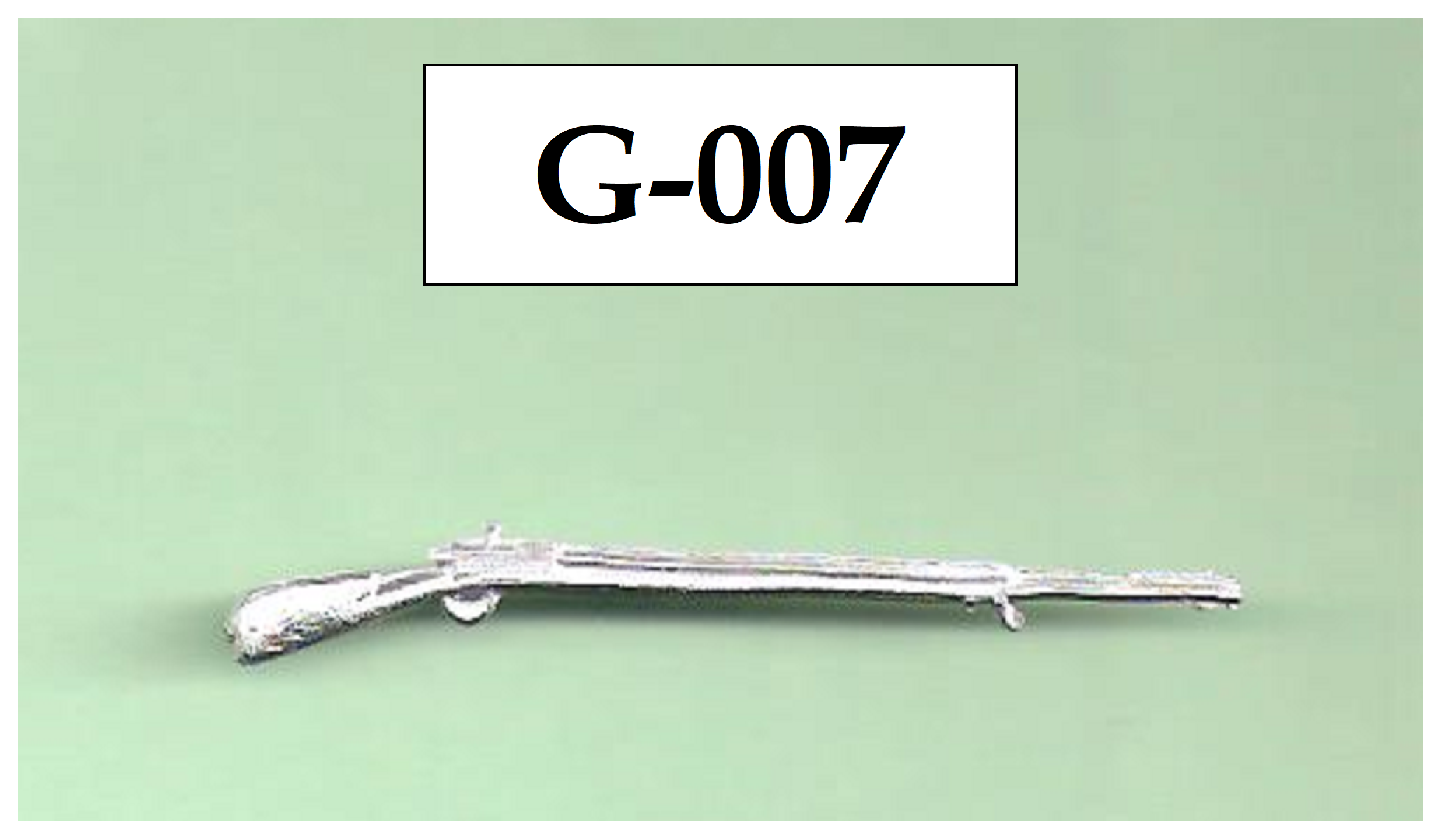 Mignot rifle with bayonet - Colonial period lebel