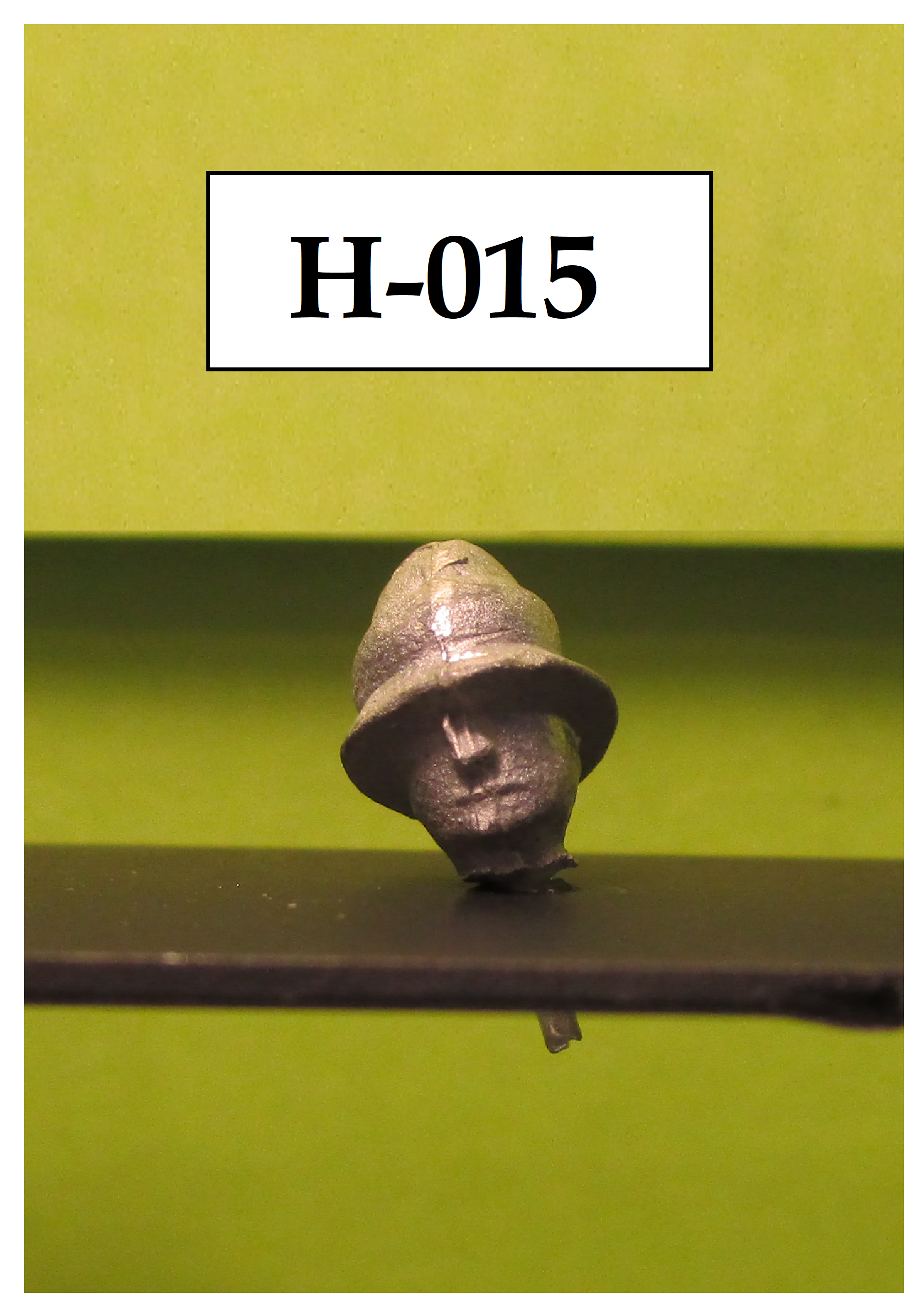 Head for British Mountain Artillery (later version) – British Foreign Service helmet